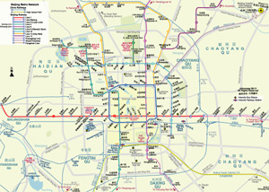 Metro Map of Beijing