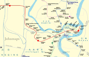 Metro Map of Chongqing