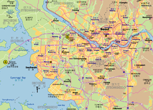 Highway Map of Seoul