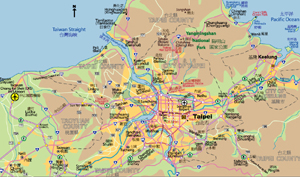 Highway Map of Taipei
