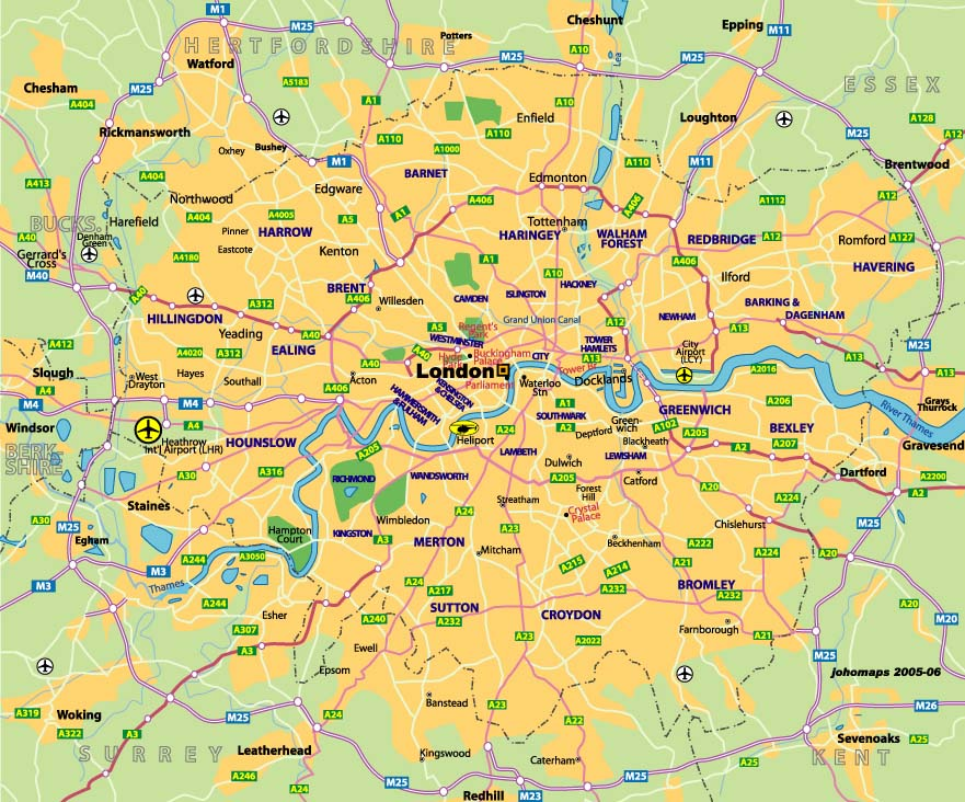 City Of London On Map.Propertyinvesting Net Property Investment Special Reports 378a