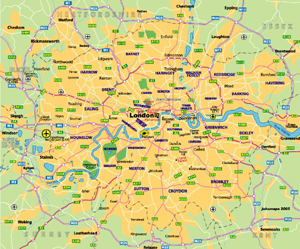 Highway Map of London