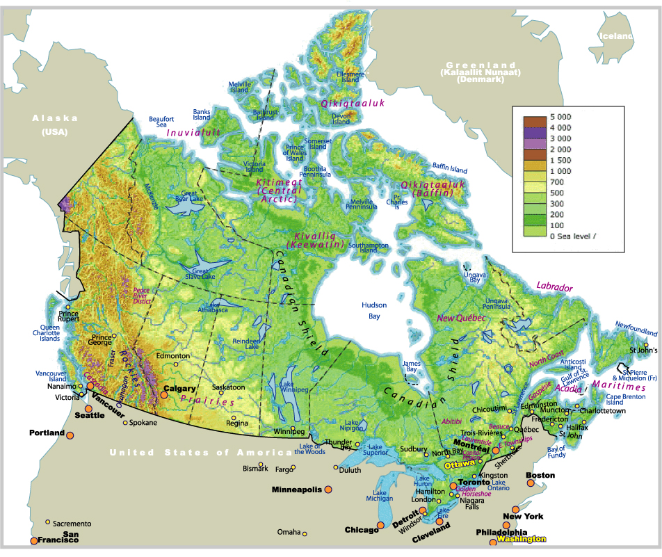 blank map of canada and usa. US County Maps • Canada